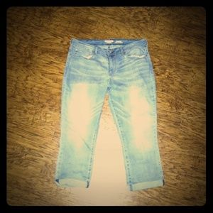 Levi's Modern Skinny Crop Jeans